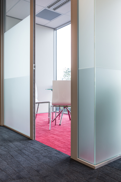 Tough, attractive and sustainable carpet tiles create an amazing space