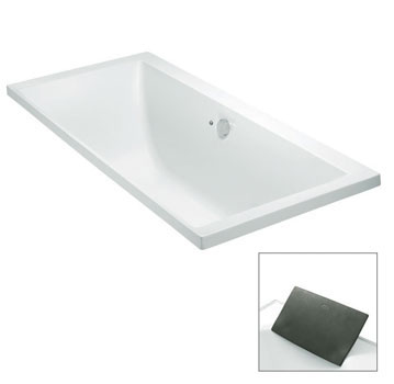 Evok Rectangular Drop-In BubbleMassage Bath by Kohler