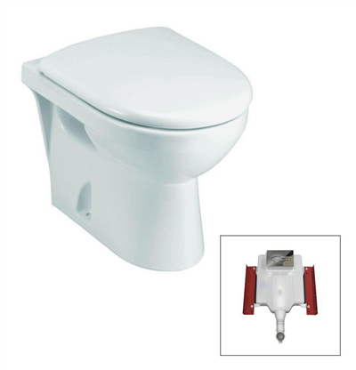 odeon wall faced toilet suite by kohler
