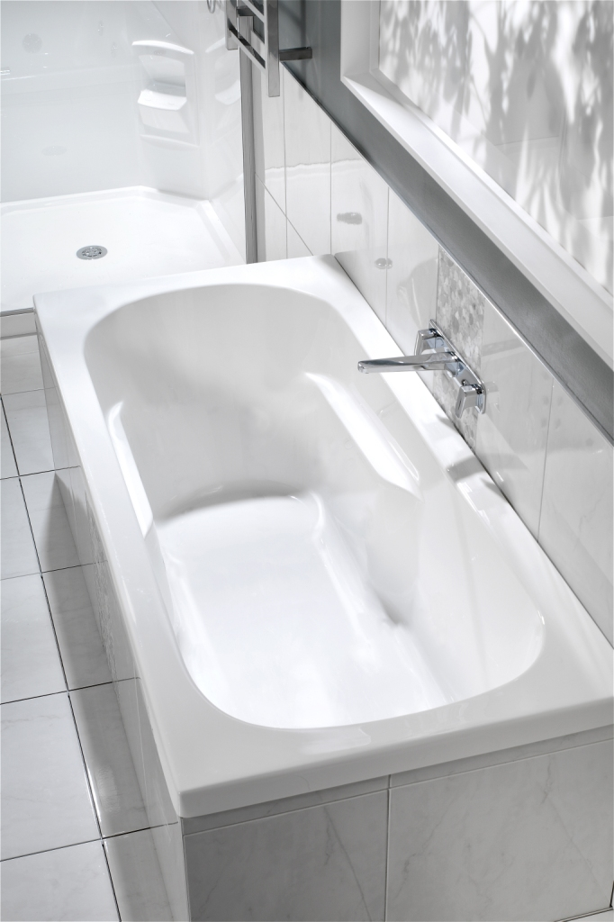 Kahlo Bath by Clearlite Bathrooms