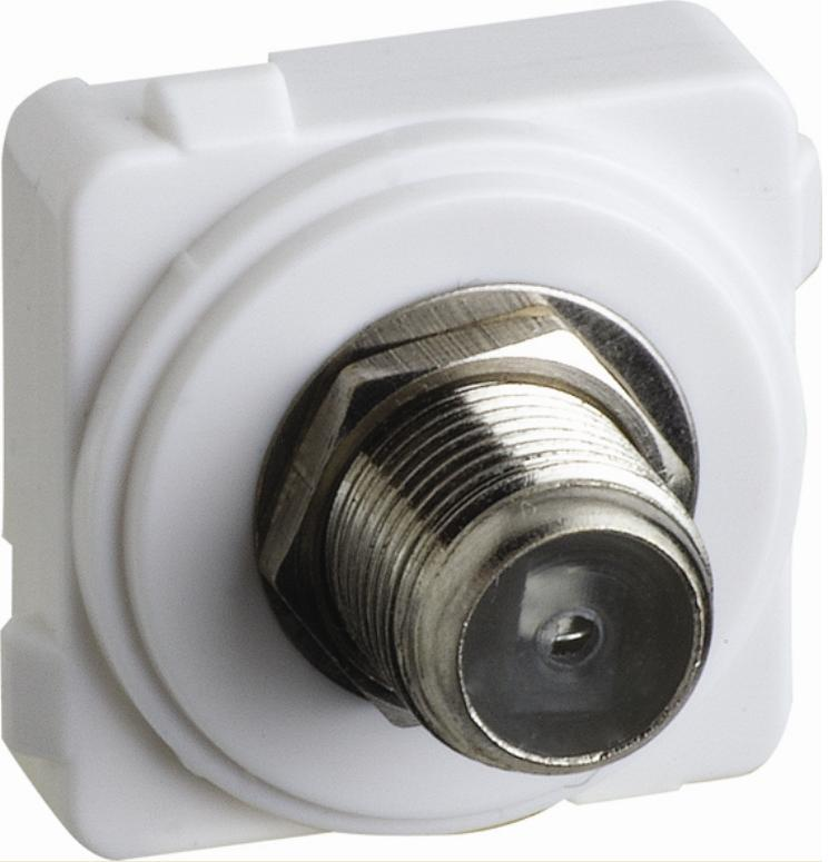 Excel Life™ - F To F TV Outlet 75 Ohm 2 4 GHz by Legrand NZ