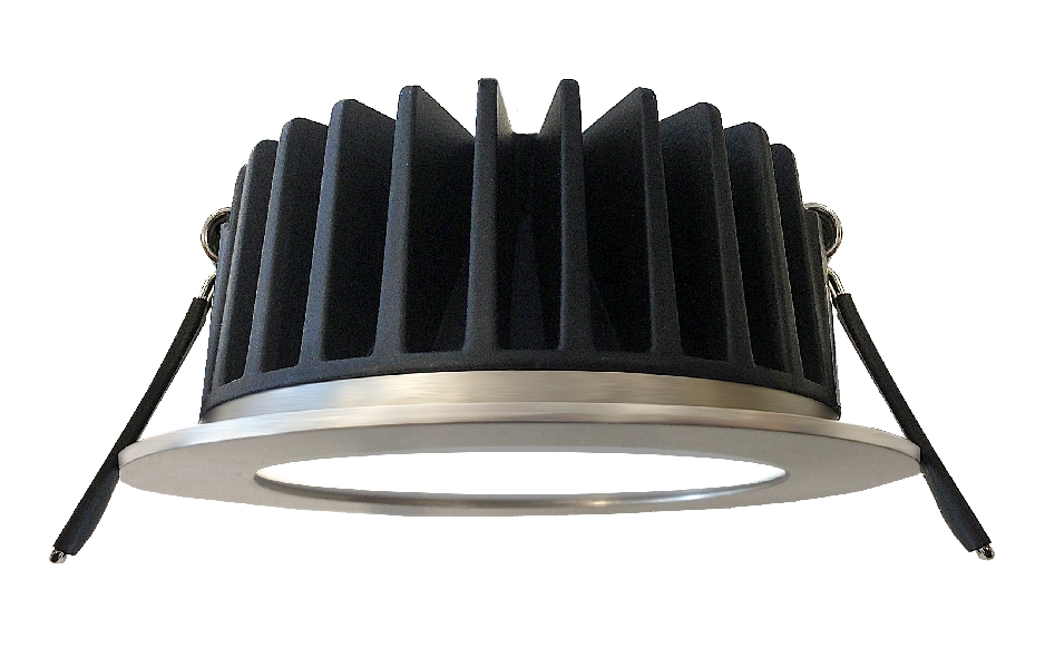 Hpm Azalea Ip44 11w Dimmable Sealed Led Downlight Kits By