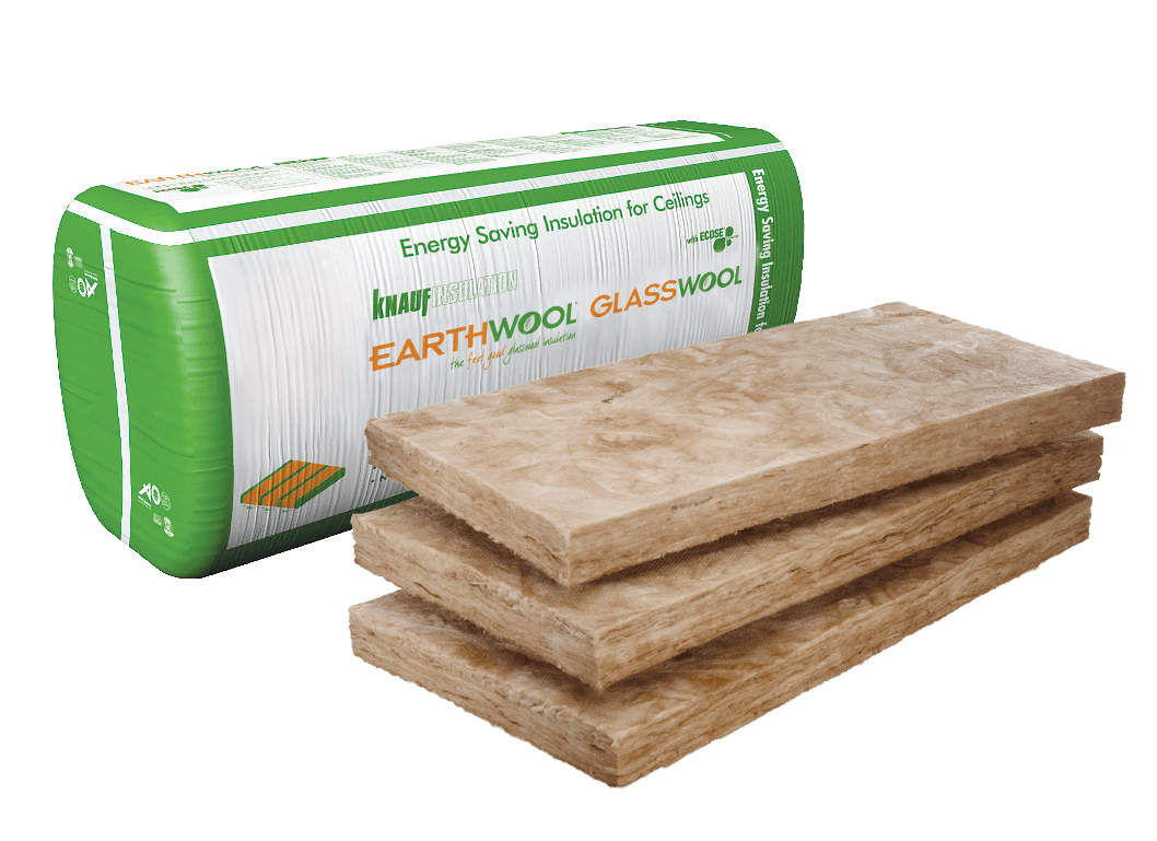 Earthwool glasswool insulation: Ceiling batts by Knauf Insulation
